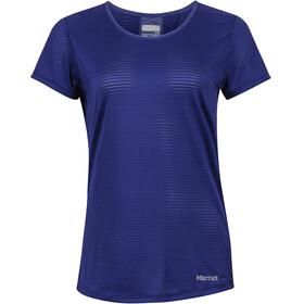 Marmot Aero t-shirt Dames blauw